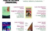 Madrid: programa del Club de Lectura (Traducida) 2018-19