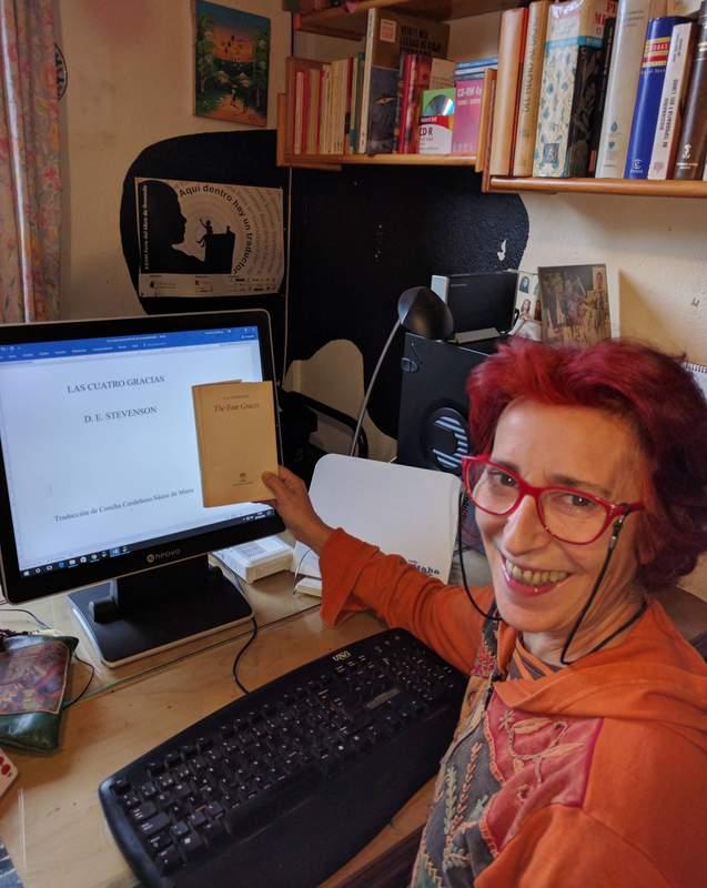 Concha Cardeñoso, ganadora del XIII Premio de Traducción Esther Benítez