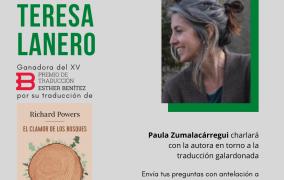 Encuentro virtual con Teresa Lanero
