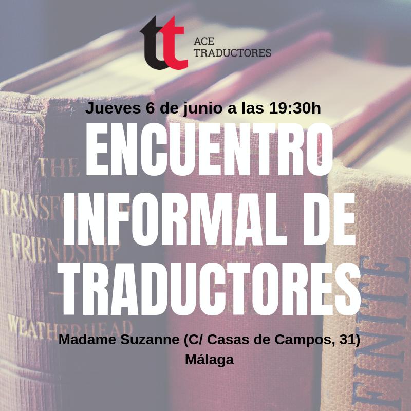 Málaga: Próximo encuentro informal de traductores