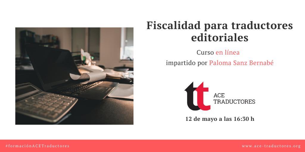 Fiscalidad para traductores editoriales