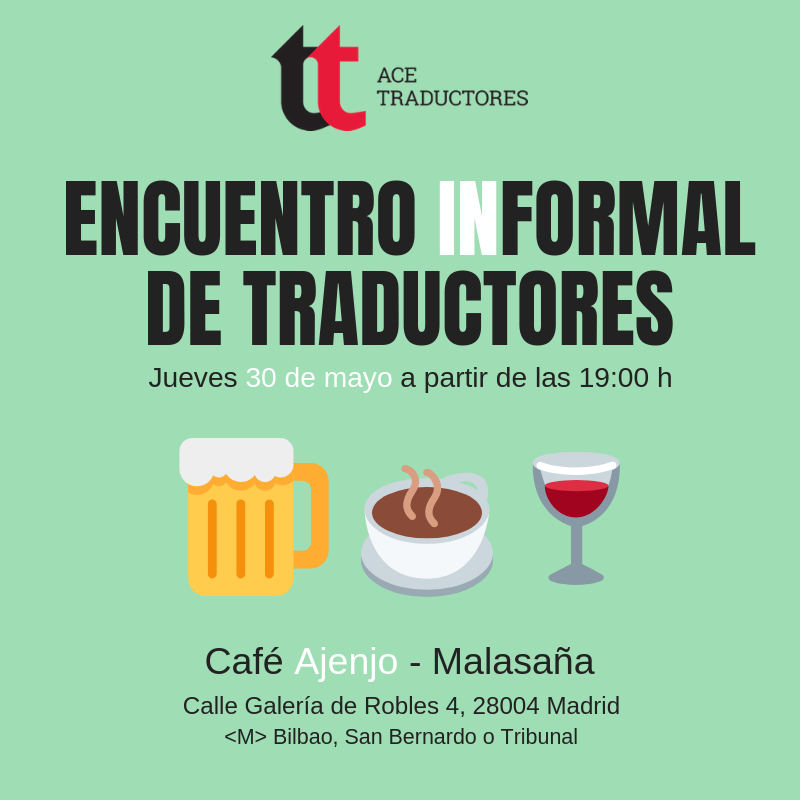 Madrid: Próximo encuentro informal de traductores